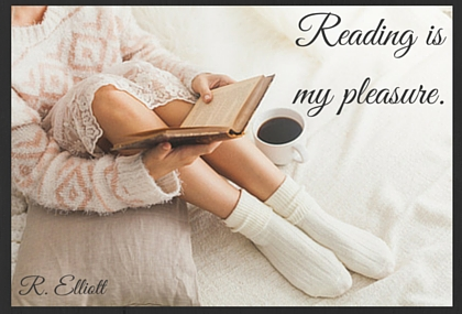 Reading is my pleasure.
